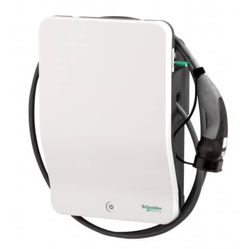 EVlink-2-Schneider-22kw-EV-Charger-With-Attached-Cable-Type-2-Plug