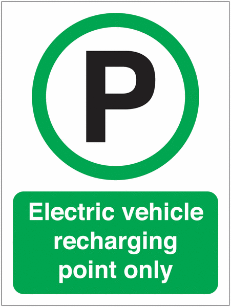 EV Recharging point only