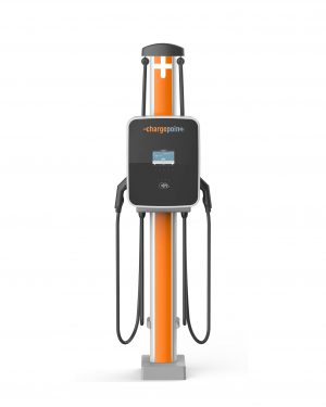image of the ChargePoint CP4300 Tethered Charger