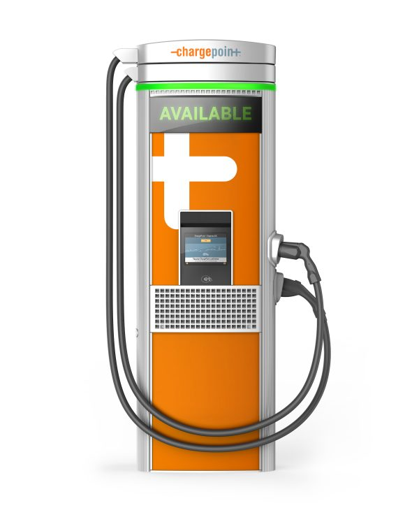image of the chargepoint express 250 electric car charger