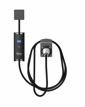 image of the ohme wall mounted electric car charger